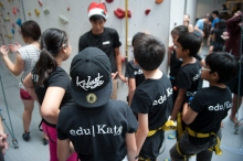 eduKate Students gets more training and honing their skills. Techniques, repeating a new skill until it becomes muscle memory and perfecting skill are being taught here.
