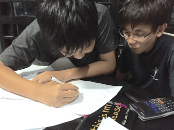 Secondary School Math tuition class eduKate Singapore for Springfield Secondary School students. Sec 3 Student scored 92% for CA1