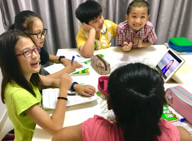 Happy students learns faster, and we keep the class intact throughout the year, and onto the subsequent years. This helps students to build a deep bond and develop great friendships.
