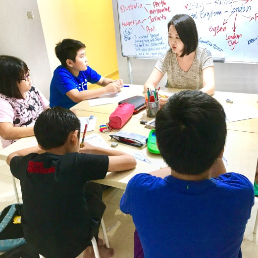 Tutor Yuet Ling teaches Creative Writing class different themes every semester.